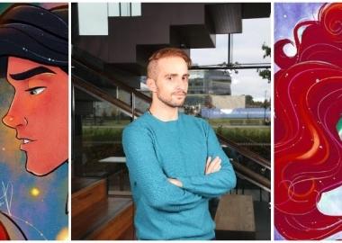 დისნეის ოფიციალურმა გვერდმა ინსტაგრამზე  ქართველი მხატვრის ილუსტრაციები გამოაქვეყნა