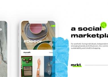 MRKT - ახალი შოფინგ პლატფორმა სოციალური ქსელის ელემენტებით