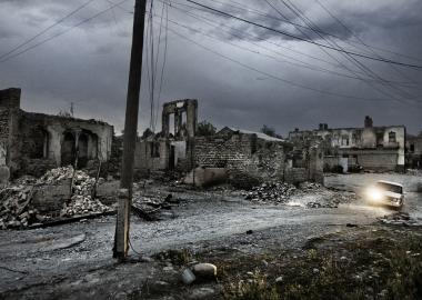 """ომი ცხინვალში რუსული პრესის თვალით - იური კოზირევის ფოტორეპორტაჟი - """"ნოვაია გაზეტა"""""""