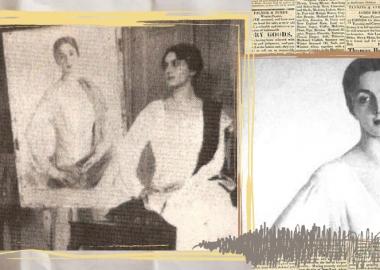 ფოტოამბავი: მერი შერვაშიძის დაკარგული პორტრეტი, რომელიც საველი სორინმა თბილისში დახატა