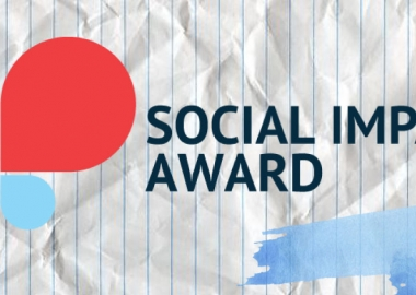 პროგრამა SOCIAL IMPACT AWARD-ის ფინალისტებისთვის ხმის მიცემა დაიწყო!