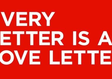 ყველა წერილი სასიყვარულო წერილია