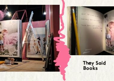 They said books - ვარდისფერი: კონცეპტუალური სივრცე წიგნების, ბეჭდური გამოცემებისა და ყავის მოყვარულთათვის