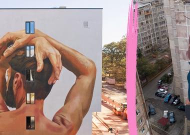 თბილისსა და ქუთაისში  Tbilisi Mural Fest-ის ფარგლებში შექმნილი ნამუშევრები