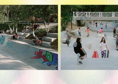 Skatepark & Parkour Ground Mziuri მის ვან დერ როეს პრიზის ნომინანტია