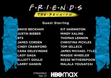 17-წლიანი პაუზის შემდეგ Friends 27 მაისს ეკრანზე ბრუნდება