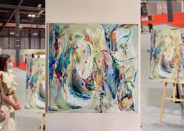 ქართველი მხატვრის, ლიკა შხვაცაბაიას ნამუშევარი ესპანეთის სამეფო ოჯახის კოლექციას შეემატა