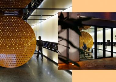 თაფლის კაფე-მაღაზია - არქიტექტურის ლაბორატორია #3-ის ახალი პროექტი